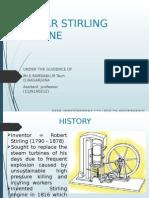 solar strilling engine ppt
