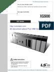 User Manual XG5000IEC for XGI XGR XEC [Unlockplc.com]