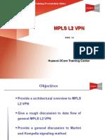 Mpls l2 VPN Principle