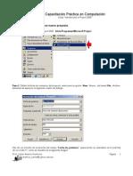 Practica #1 Project 2000 Prof. Montiel