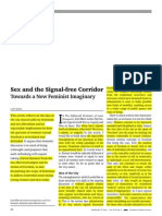 Sex and the Signalfree Corridor