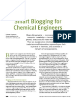 Smart bogging for chemical engineers