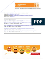 1.126512 Effecto of the Coulomb Interaction on the Response Time and Impedance Ogf the Resonant-tunneling Diodes