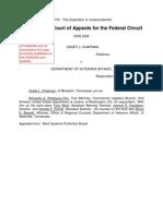 Chapman v. Department of Veterans Affairs, C.A.F.C. No. 2009-3226