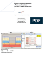 Comparison Between Plaxis and DeepXcav - 2012 Edition (2)