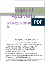 scopeofayurvedaayurveda