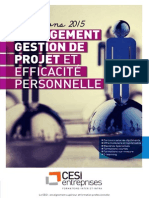 CESIEntreprises Formations Management 2015
