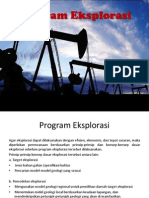 Program Eksplorasi