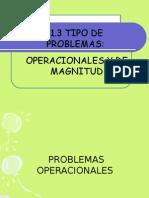 problemas operacionales