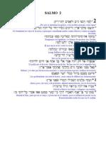 Salmo 2 (Hebreo-español)