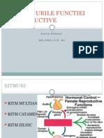Bioritmurile Functiei Reproductive