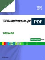 ECM Essentials_IBM FileNet CM