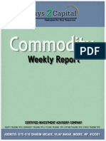 Commodity Report Ways2Capital 23 March 2015