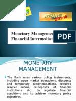 Moneytary Management
