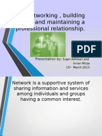 Networking Presentation1