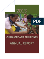 2013 Childhope Asia Philippines Annual Report