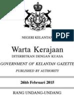 RUU Kanun Jenayah Syariah II (2015) Negeri Kelantan PDF