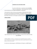 An Explanatory Note on the Famines in India