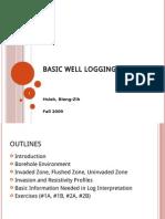 Basic Well Logging Analysis -1 (Borehole Environment) (1)