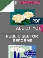 Business Env- Public Sector Reforms