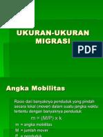 UKURAN-UKURAN MIGRASI