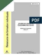 UTILISER UN LOGICIEL DE PROGRAMMATION D'UN API
