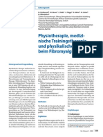 2008- Physiotherapy, Exercise and Strength Training and Physical Therapies in the Treatment of Fibromyalgia Syndrome