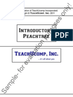 Peachtree Introductory