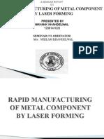 Laser Forming Seminar Presentation