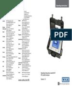 A5 Manual SF6-Q-Analyser V1-3 Engl ORRR 0513