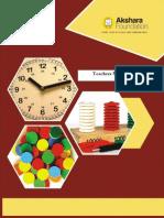 Akshara Ganitha Math Teacher's Manual - 2