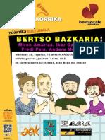 Bertso Bazkaria Kartela 2015