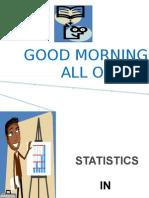 BRM-Statistics in Research