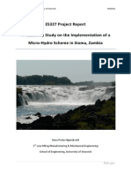 Hans Petter Bjornavold_Implementation of a Microhydro Power Scheme_2009_REPORT