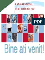 Actualizare CURS TEHNIC aer conditionat 2007