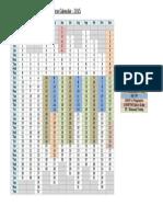 IITS Course Calendar - 2015