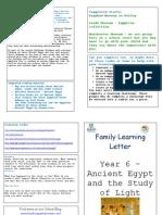 Yr 6 - Ancient Egypt