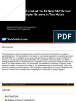 Uxp263 Sap Screens