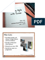 Agile Scrum Agile Development Practices 2010