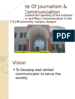 Institute of Journalism & Mass Communication