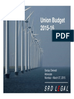 20150307 Budget 2015