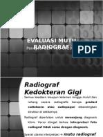 evaluasi mutu radiograf
