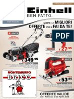 Einhell Italia Volantino Primavera 2015 - BRICO Montemurro