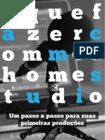 O que fazer com meu home studio - Guilherme Cysne