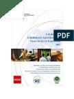 IFC - Corp Gov - Survey - Pakistan