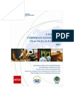 IFC - Corp Gov - Survey - Pakistan