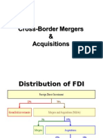 Cross-Border Mergers & Acquisitions