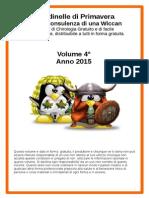 Rondinelle di Primavera Con i due Pinguini pdf di Chirologia Volume 4°