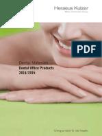 W09216 45923 Praxiskatalog Dentistry GB Regio 2013