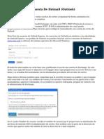 Como Crear Una Cuenta De Hotmail (Outlook)